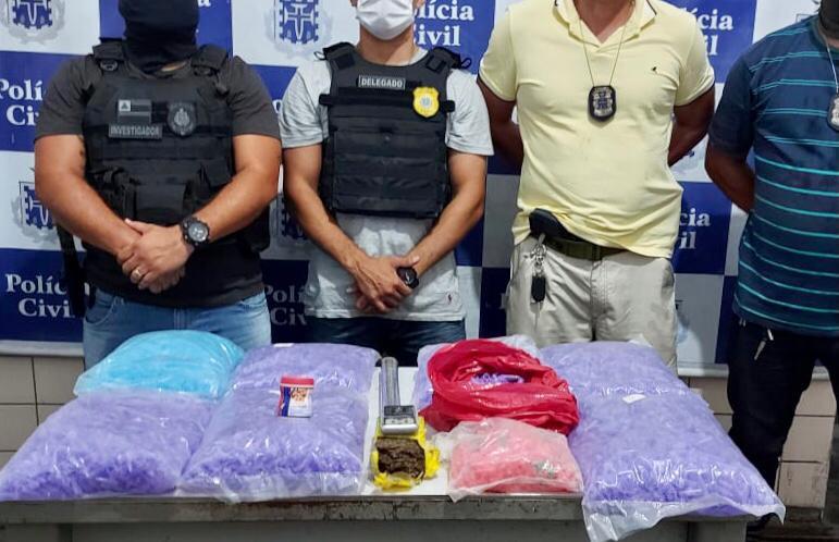 Operação Faro Fino apreende grande quantidade de drogas em Jequié