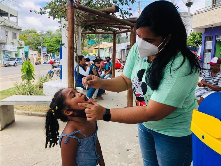 Sábado foi dia D de vacinação em Jitaúna e Zona Rural: Campanha segue até 30 de outubro