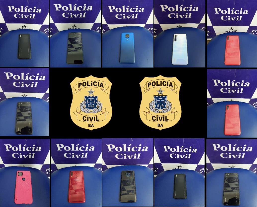Polícia Civil recuperou 12 celulares roubados em Jequié