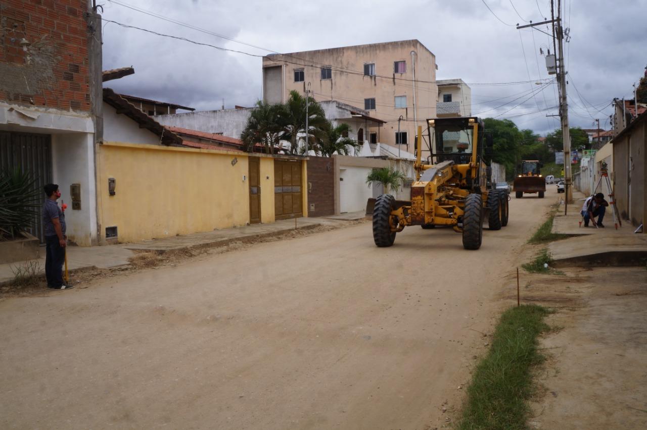 Prefeitura anuncia pavimentação de rua e muda acesso ao Bairro São Judas Tadeu