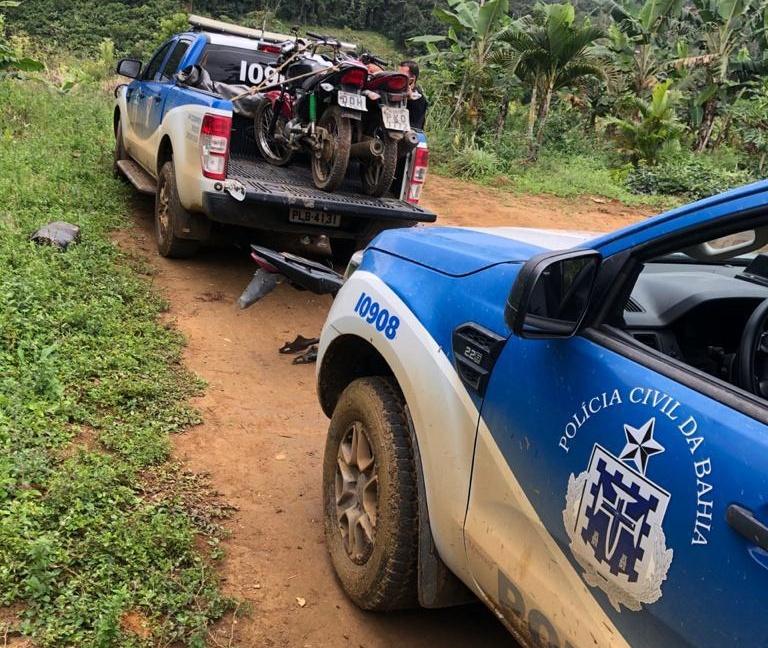 Polícia Civil prende 3 bandidos e recupera 6 motos roubadas em Ibirataia