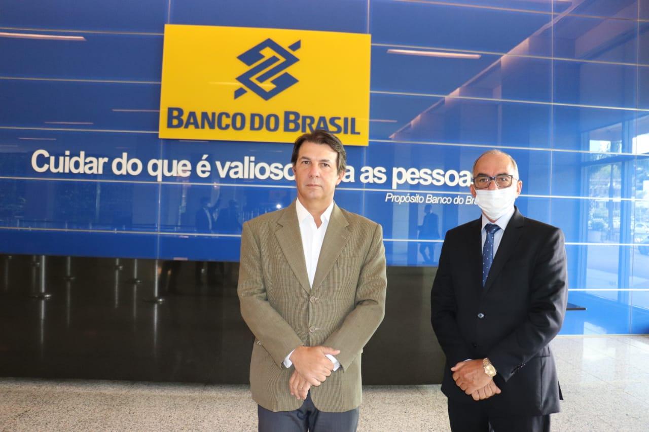 Itagi: Prefeito se reúne com Representantes  do Banco do Brasil em Brasília, para assegurar que agência permaneça na cidade.