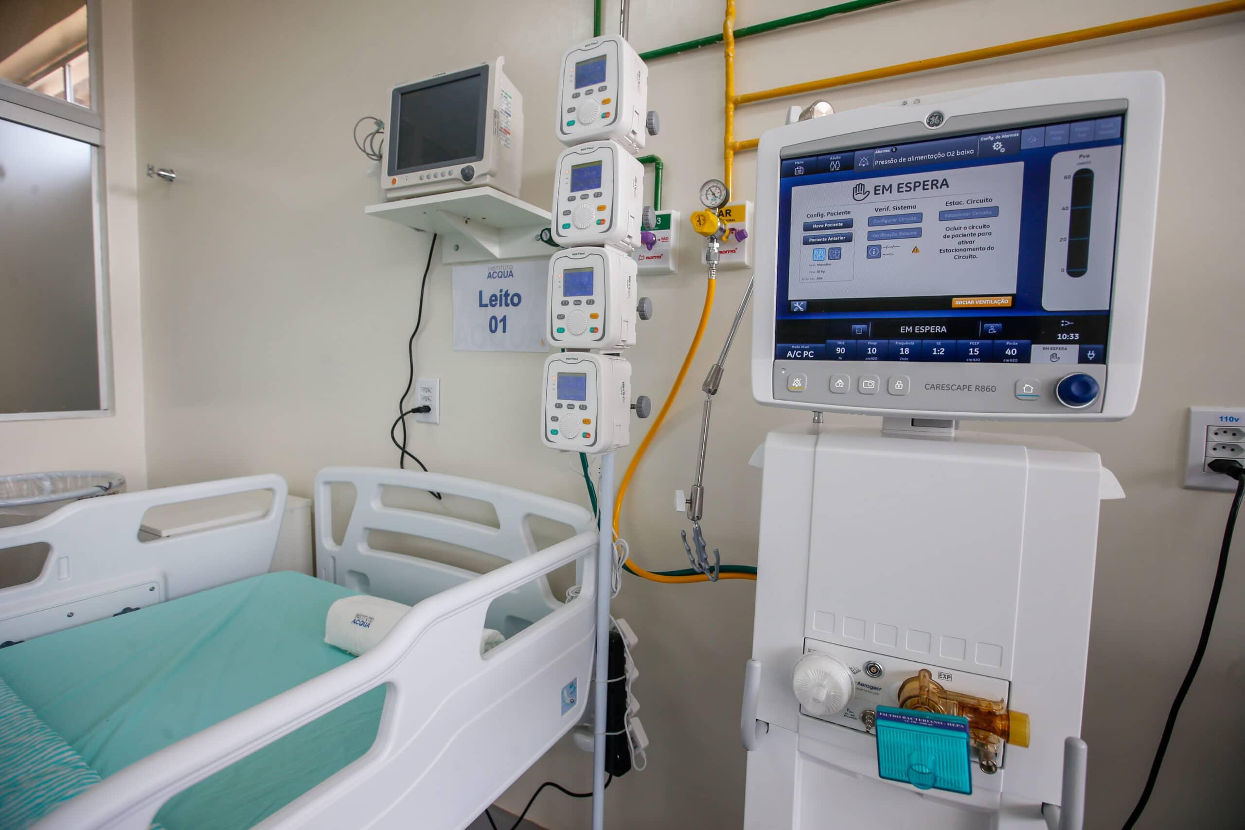 Jequié está na lista  dos 347 leitos de Suporte Ventilatório Pulmonar autorizados pelo Ministério da Saúde