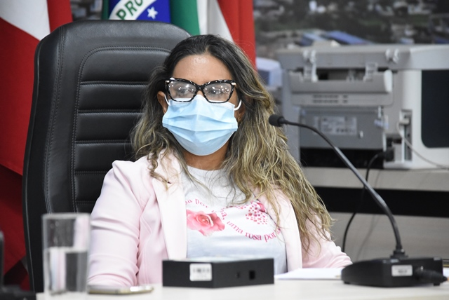 Moana Meira sugere elaboração de Projeto de Lei para atender demanda de servidores municipais