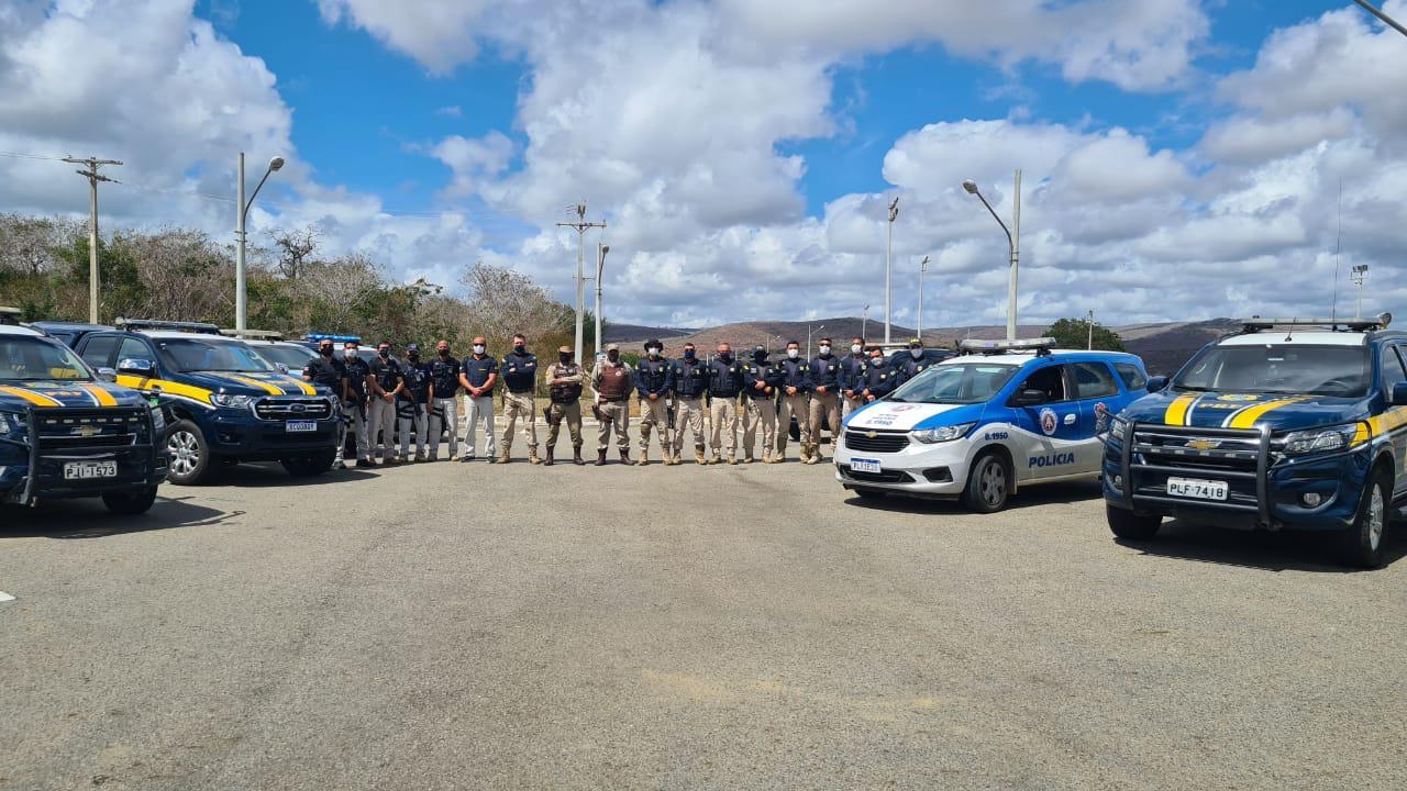 Operação conjunta das polícias apreende 5 veículos na região de Brejões e Nova Itarana