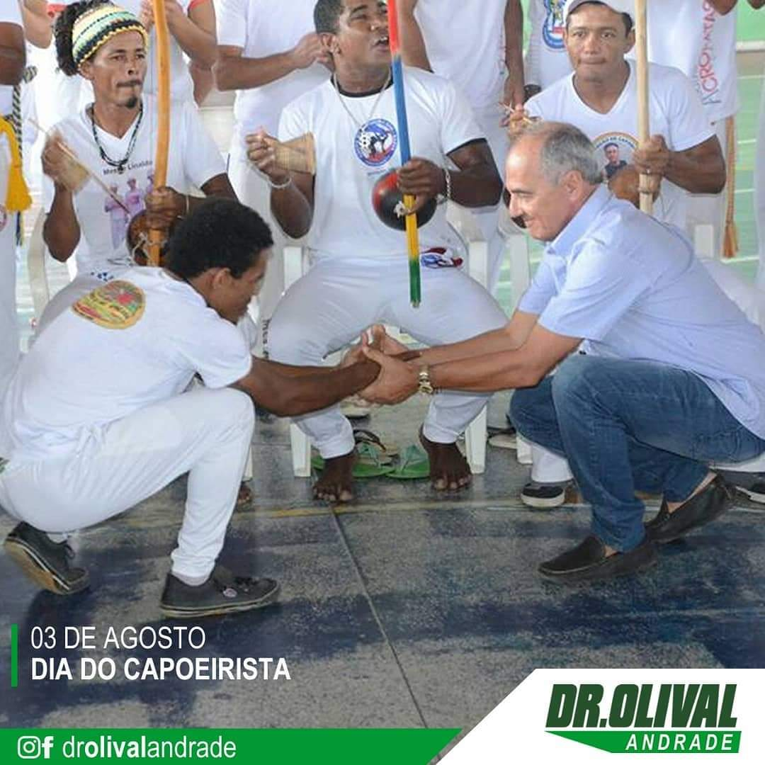 Homenagem da Prefeitura de Itagi ao dia do capoeirista