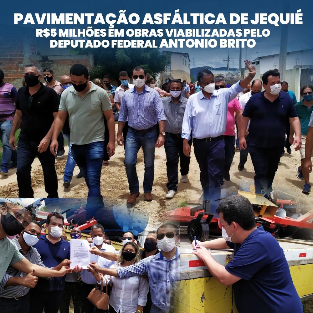 PAVIMENTAÇÃO ASFÁLTICA DE JEQUIÉ