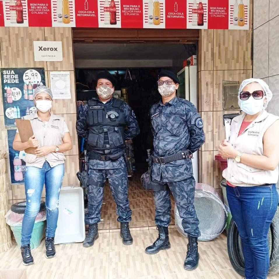 Itagi: prefeitura efetua rondas preventivas de combate a COVID 19
