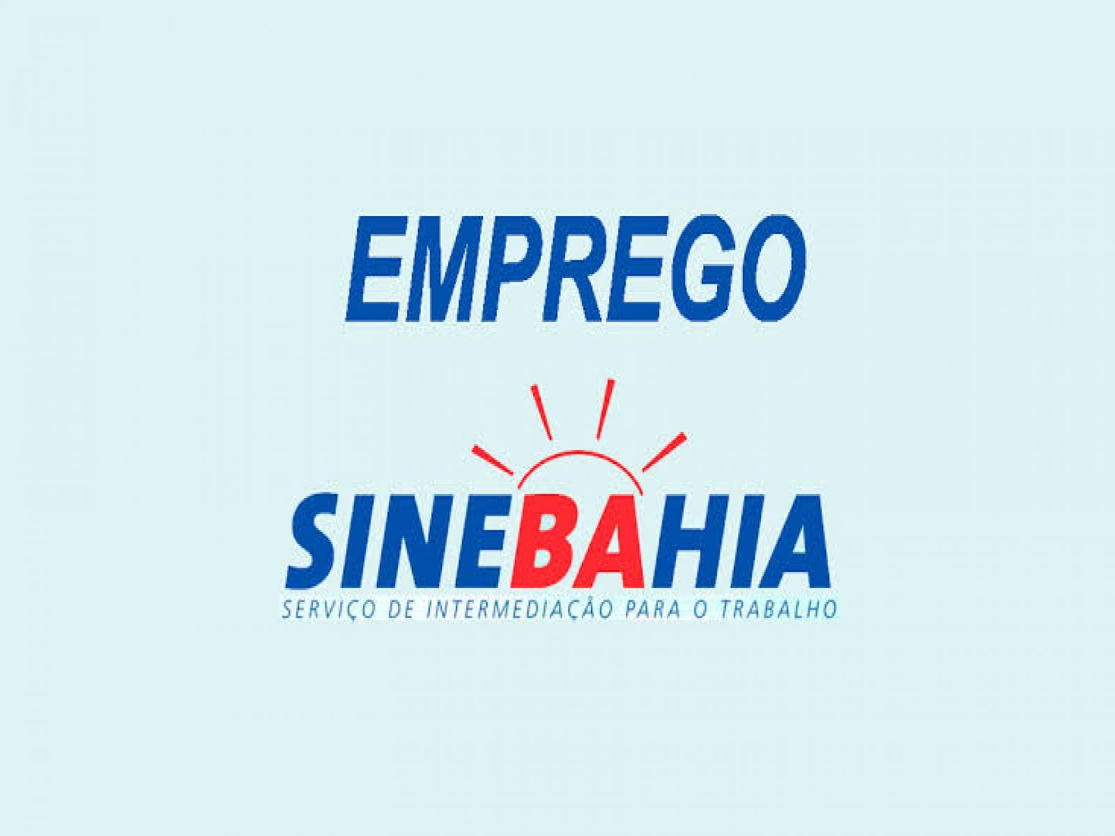 Vagas de empregos no SineBahia