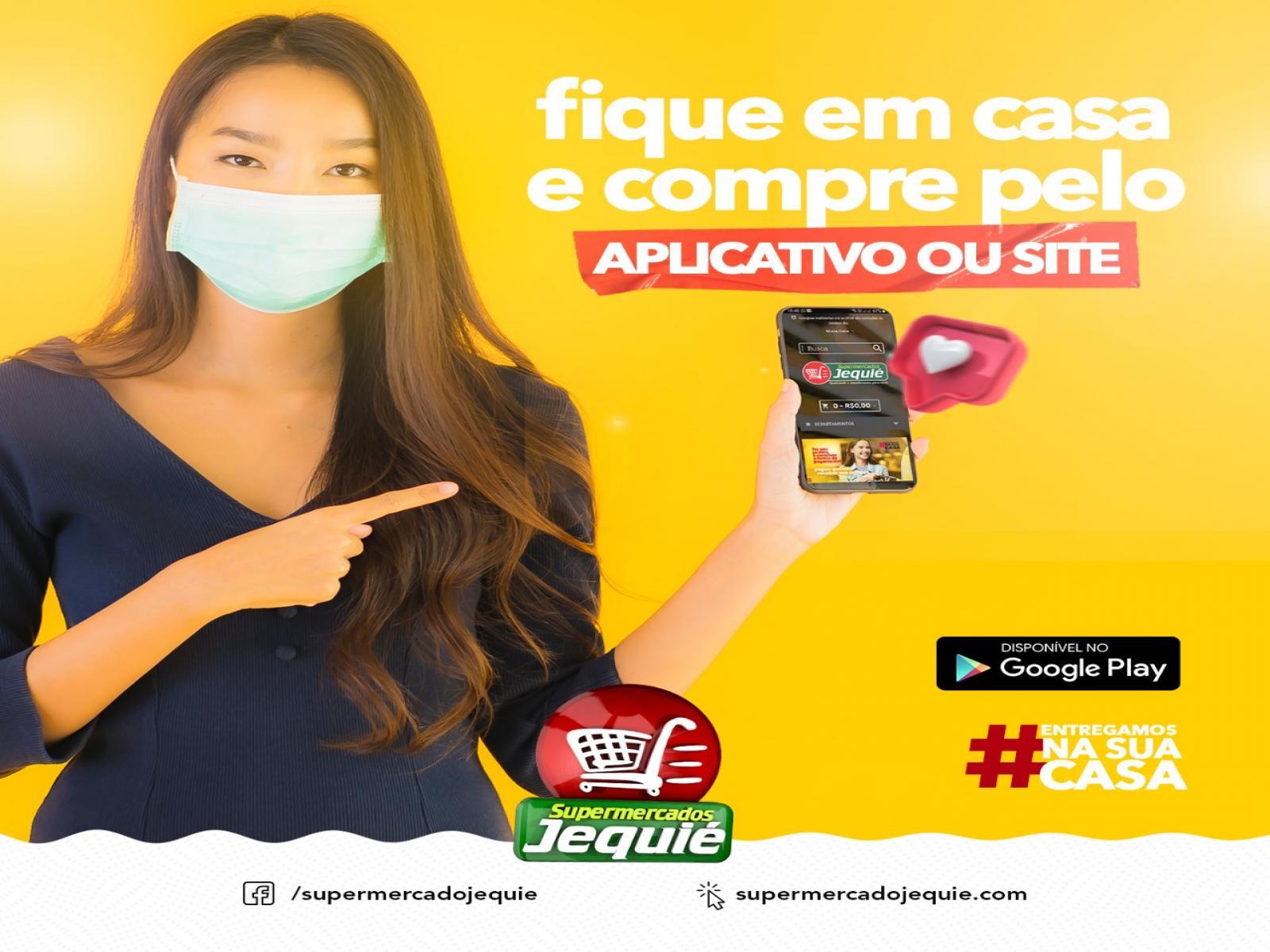 Compre no Supermercado Jequié usando PIX