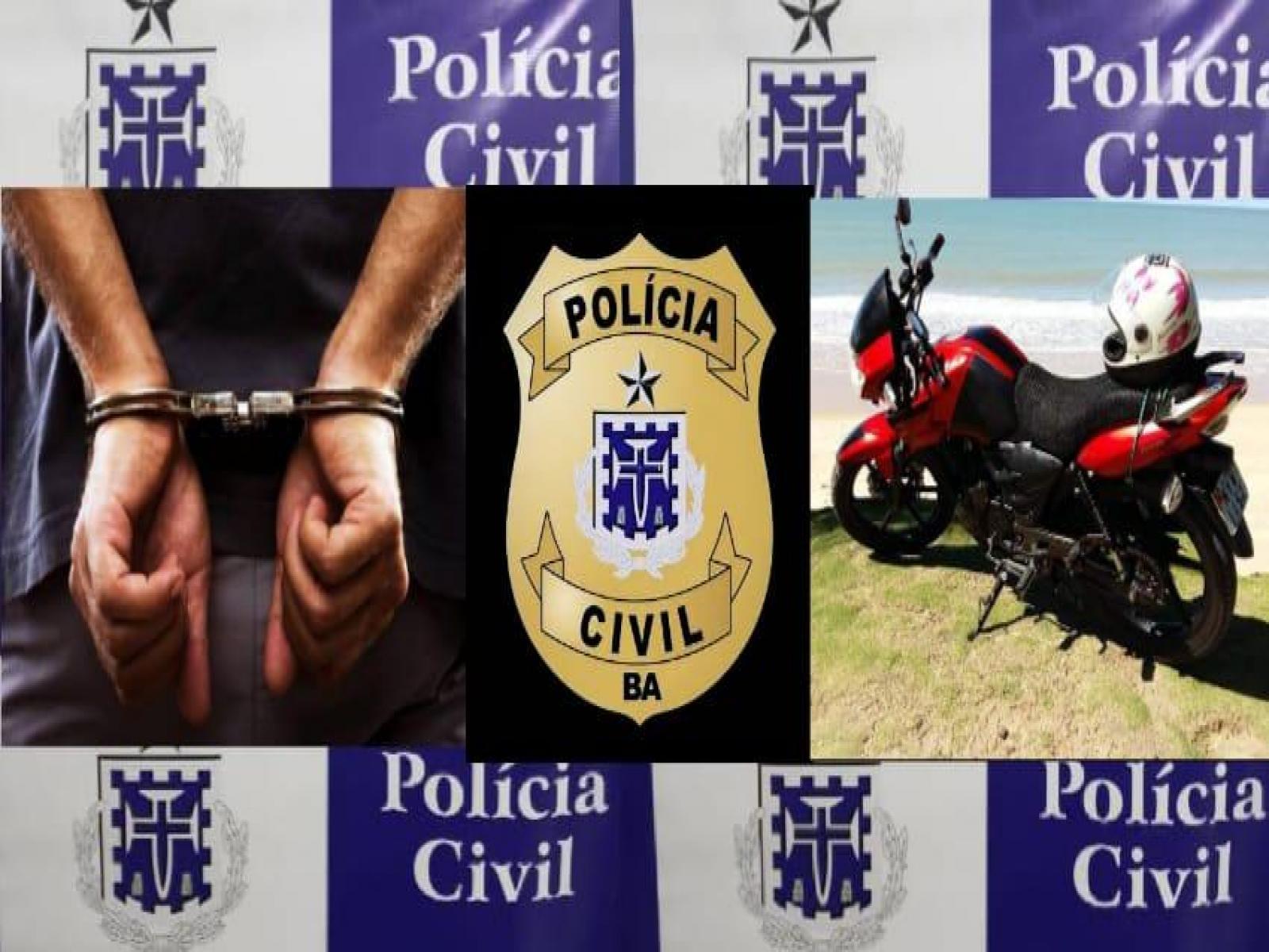 Polícia Civil prende ladrão de celulares formatando os aparelhos em uma loja