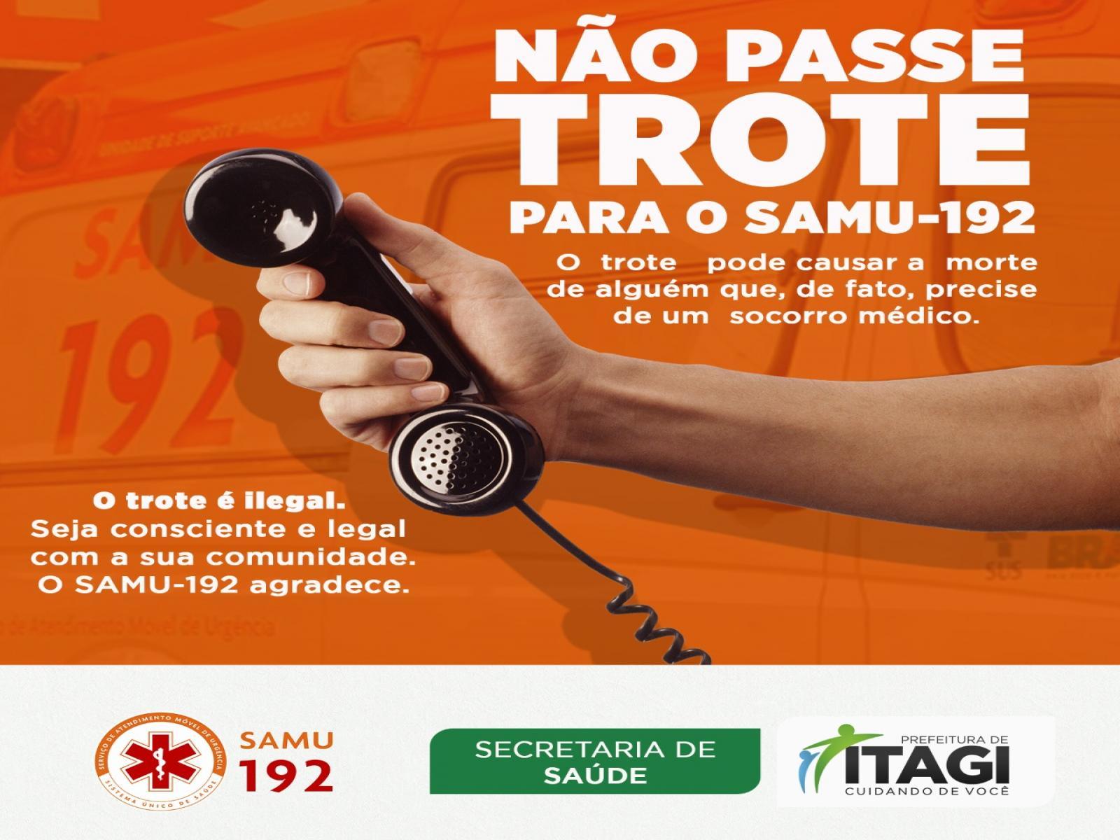 ITAGI: SAMU - 192