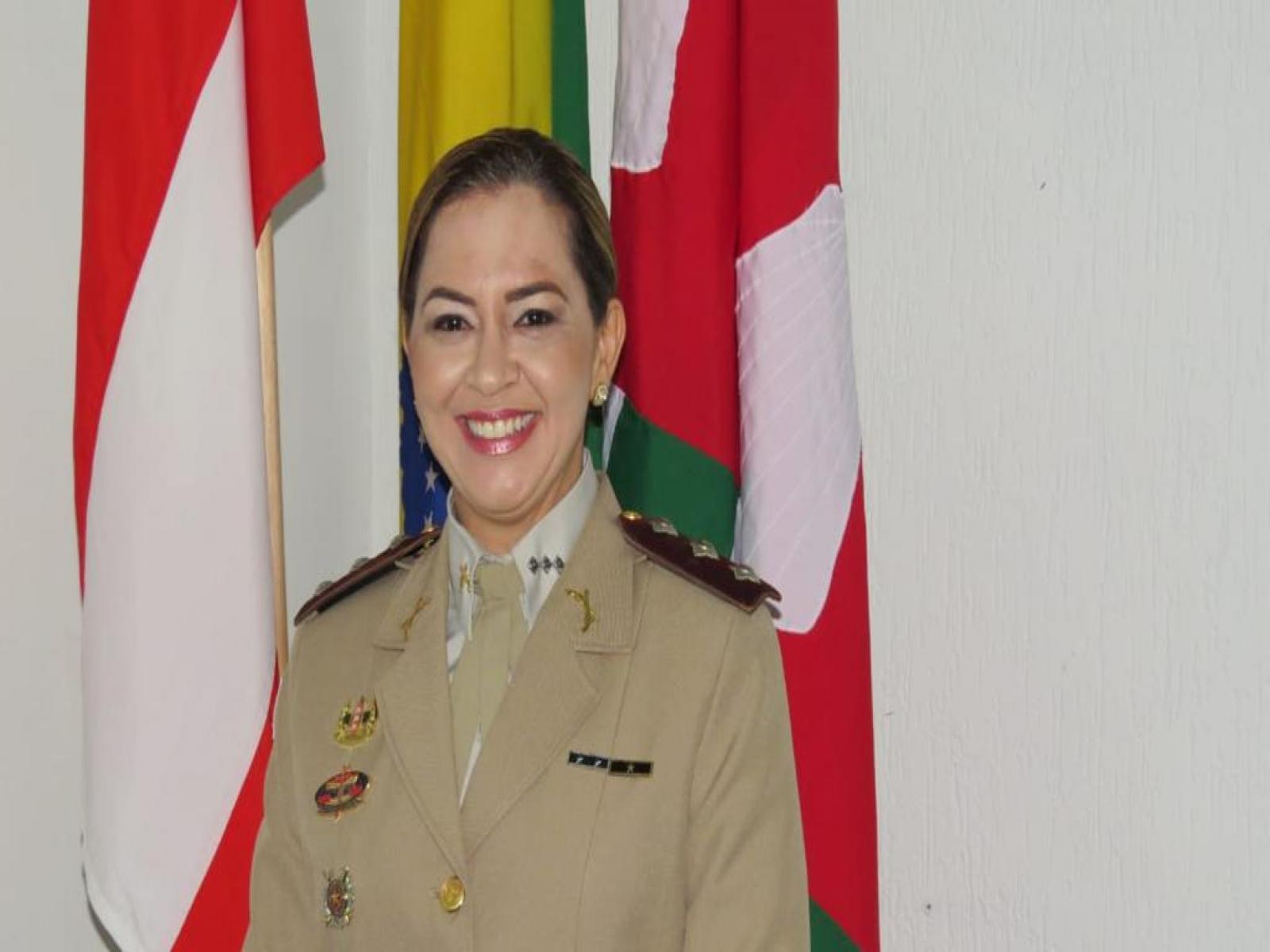 Capitã PM Poliana, comandante da 71ª CIPM foi contemplada com Medalha Mérito São Joaquim do estado de Roraima