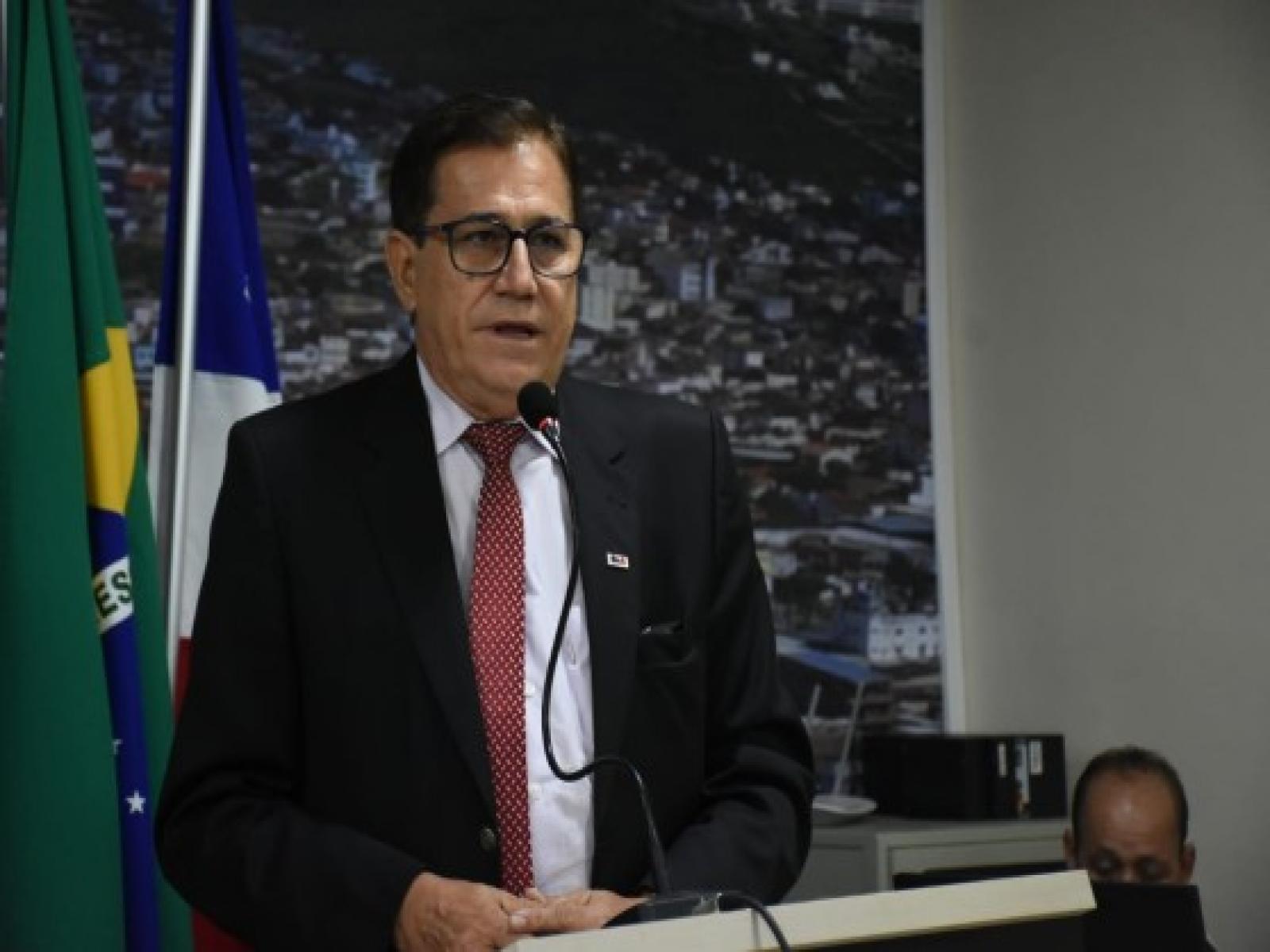 JOAQUIM CAÍRES REIVINDICA CONSTRUÇÃO DE CRECHE NO LOTEAMENTO ÁGUA BRANCA